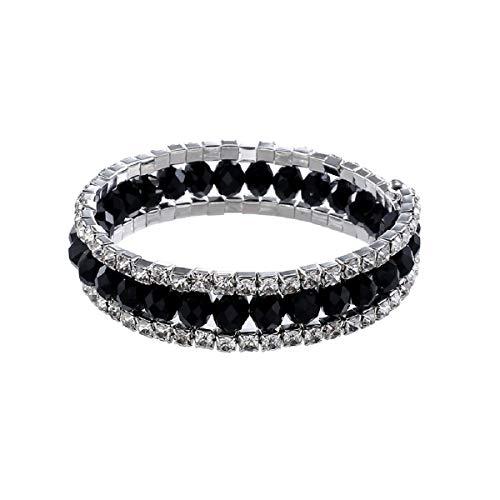 Armbänder, Barlingrock Kristall Diamant Armband, Einfache Mode Eleganz Damen Armband Schmuck Multi-Color