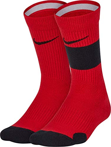 Nike Elite Crew Socks Young Athletes Kids Shoe size 7C-10C (Sock size 4-5) (Shoe size 7C-10C (Sock size 4-5))