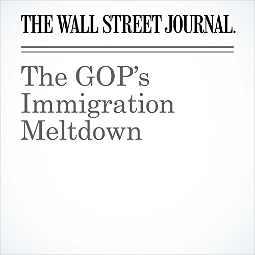 The GOP's Immigration Meltdown copertina