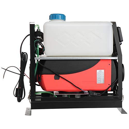 ZEL Calentador de Aire Diesel de 12 V con termostato LCD, Acero Inoxidable, tecnología de Control automático Bujía de cerámica Interruptor de Perilla de Distancia de Control Remoto de 100M