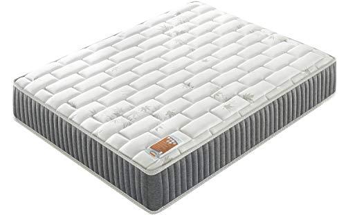 Sensoreve Galice hybride matras, dubbele technologie: pocketvering + 2 cm traagschuim, 25 cm dik, hoogwaardig comfort