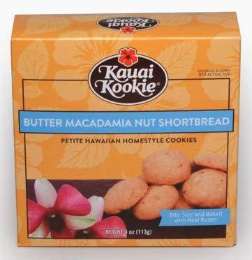 Butter Macadamia Nut Shortbread, Petite - 4 ounce (113g)