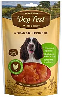 Dog Fest Chicken Tenders for Adult Dogs ,Dog Treats - 90g (3.17oz)