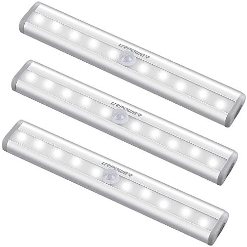 URPOWER Motion Sensor Light Indoor, 10 LED Motion...