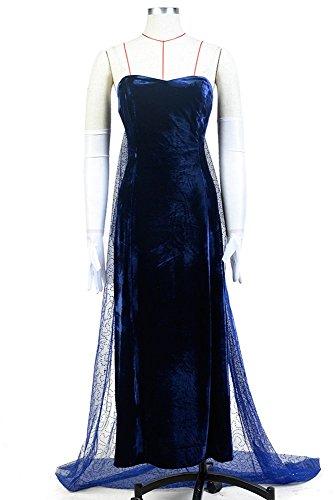 Anastasia (1997 Film) Romanov Evening Dress Blau Cosplay Kostüm Damen S