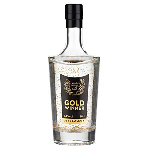 Goldwinner London Dry GIN - Premium Gin mit 22 Karat Gold