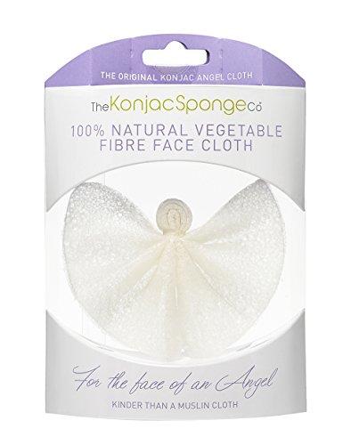 The Konjac Sponge Co Angel Cloth – Éponge Konjac pour nettoyer et exfolier