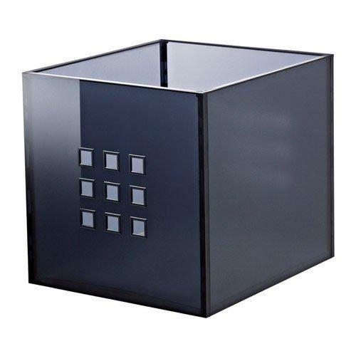 Ikea LEKMAN Box in dunkelgrau (33x37x33cm); passend für EXPEDIT Regal