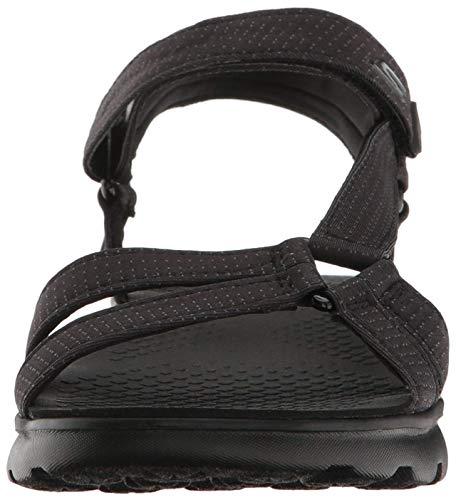 Skechers on- The-go 400-14675, Sandale Femme, Noir, 37 EU