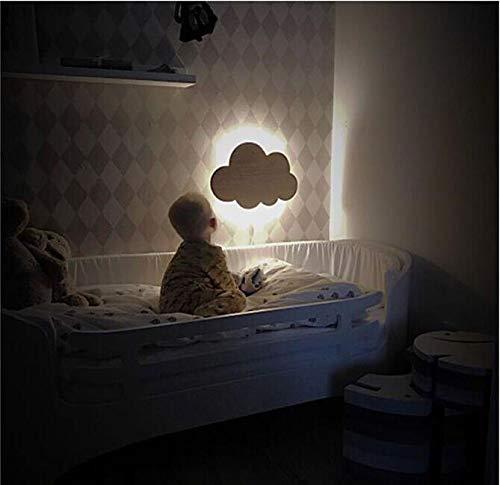 Aplique Pared Baño Estilo Nube Lámpara De Pared Luces Blanco Rosa Led Montado En La Pared Sala De Estar Chica Niños Dormitorio Decoración De Luz Diseño 18x25CM Negro