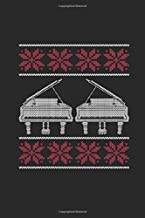 Christmas Piano: Dotted Bullet Notebook (6