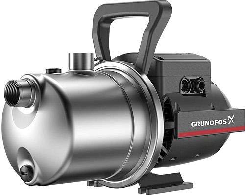 Grundfos Elektropumpe Jet selbstansaugend JP 3-42, 1 HP, für Bewässerung, Garten, Autoklave, 55 Liter, 4 Bar, 0.72 kw, Monofase, Monokanal