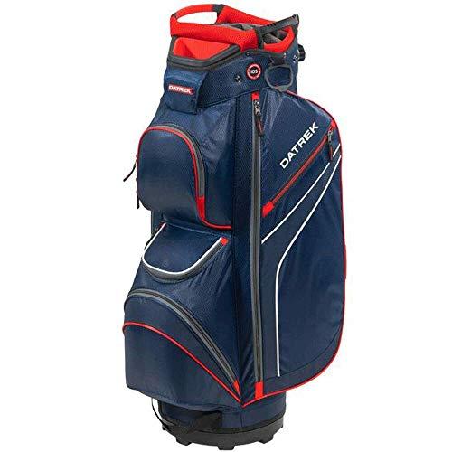Datrek DG Lite II Cart Bag, Navy/White/red