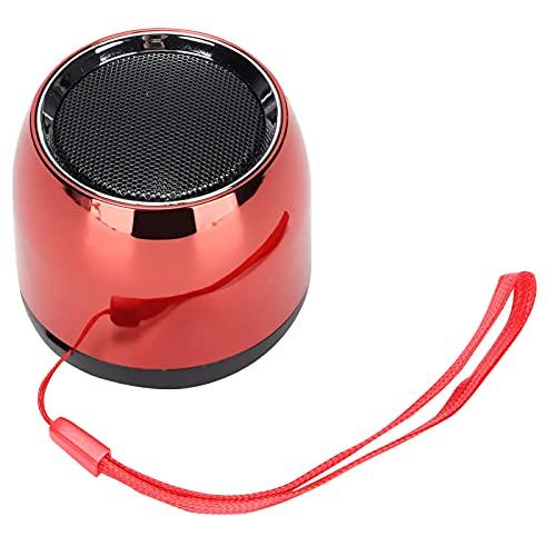 Jopwkuin Altavoces inalámbricos, batería de Litio de 600 mAh 4 Horas de reproducción Altavoz portátil Compatibilidad Universal para la Familia