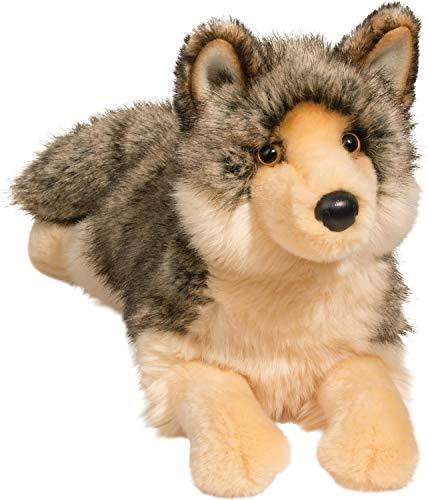 Douglas Alder Wolf Plush Stuffed Animal -  Douglas Cuddle Toys, 1895