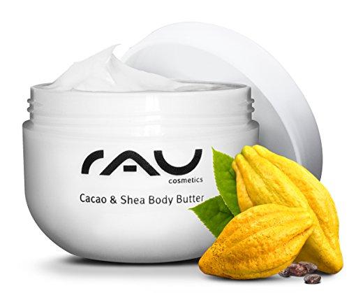 RAU Cacao & Shea Body Butter 200 ml - pour une sensation de la peau douce