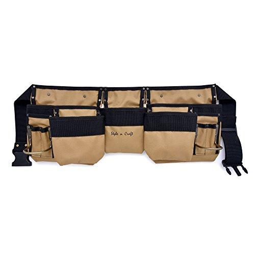 Style n Craft 76-425 11 Pocket Tool Belt