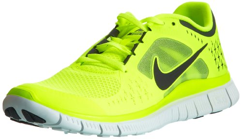 97f651ef78a643 Shop Nike Free Run+ 3 Mens Running Shoes 510642-702 Volt 12 M US ladies  shoes for men