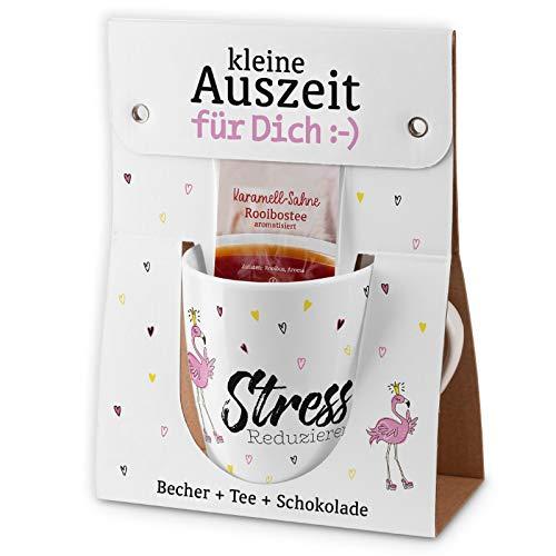 Preis am Stiel Auszeit Stress Reduzierer   Kaffeebecher   Schokolade   Tee   Tasse   Bürotasse   Kakaobecher   Becher   Kaffeetasse   Geschenkidee für Freunde