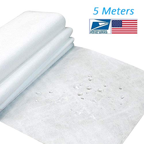 5M Filtering Efficiency Greater Than 95/% Non-Woven Fabric Microfiber Melt-Blown Cloth Disposable Middle Layer Filter Fabric Polypropylene Sediment Filters for Filtering Layer Application