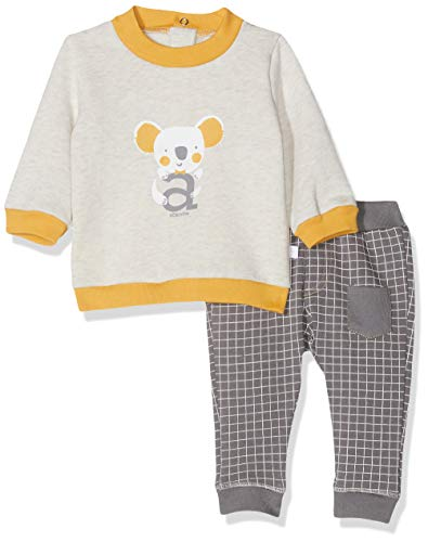 Absorba 7p36371-ra Ens Pantalon Conjunto, Gris (Dark Grey 28), 18-24 Meses (Talla del Fabricante: 18M) para Bebés