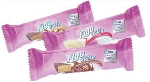 Lr Figuactiv Riegel 6er Pack Crunchy Caramel Drogerie Körperpflege