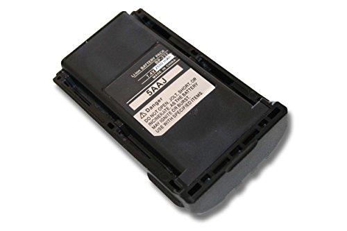 vhbw Li-Ion Akku 2500mAh (7.4V) für Funkgerät, Walkie Talkie iCOM IC-4011, IC-A14, IC-A14S, IC-F14, IC-F14S, IC-F15 wie BP-230, BP-231, BP-232.