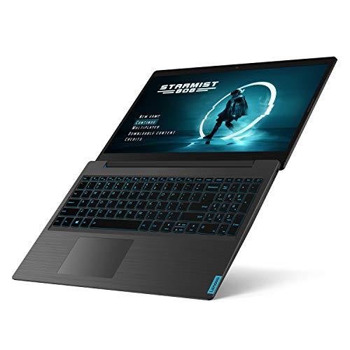 Lenovo IdeaPad L340 Gaming Laptop, 15.6-Inch FHD (1920 X 1080) IPS Display, Intel Core i7-9750H Processor, 8GB DDR4 RAM, 1TB HDD, 256GB NVMe SSD, NVIDIA GeForce GTX 1050, Windows 10, 81LK000EUS, Black