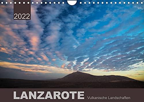 LANZAROTE Vulkanische Landschaften (Wandkalender 2022 DIN A4 quer)