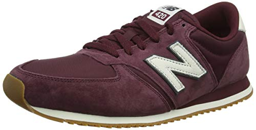 New Balance 420, Zapatillas Unisex Adulto, Rojo (NB Burgundy/Magnet Burgundy), 38 EU