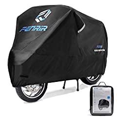 The motorcycle cover has a three-layer structure fabric, which is suitable for hot sun, heavy rain, strong wind and other weather. Use Oxford fabrics with high durability and water resistance, soft fabrics to prevent internal damage, and heat resista...