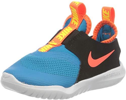 Nike Flex Runner (TD), Scarpe da Ginnastica, Blu (Laser Blue/Hyper Crimson-Black), 22 EU