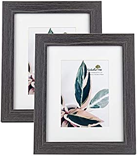 Scholartree Wooden Photo Picture Frame 5x7 3P 8x10 2P 11x14 2P (Style 3, 8x10 inches 2P)
