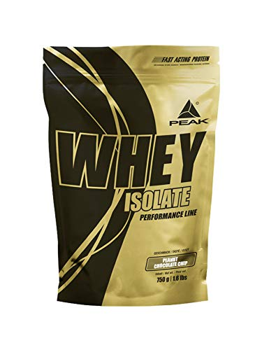 PEAK Whey Protein Isolate Peanut Chocolate Chip 750g   NEW DESIGN