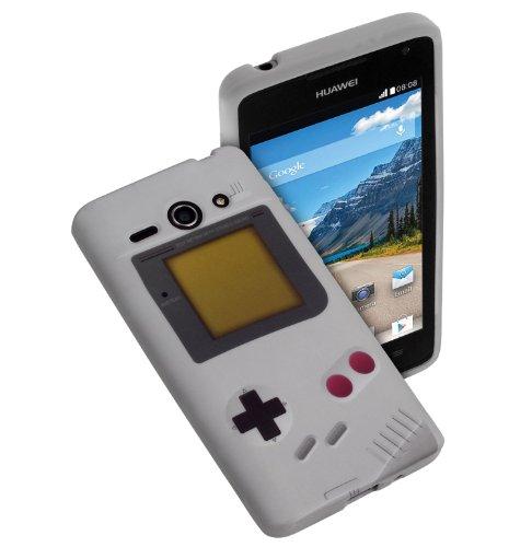 yayago - Print Gameboy Look - Silikonhülle mit Druckmotiv 'Gameboy' - Schutzhülle Hülle Case Tasche für Huawei Ascend Y530