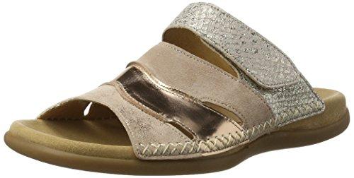 Gabor Shoes Damen Fashion Pantoletten, Beige (rame/Rouge/Rose 64), 38 EU