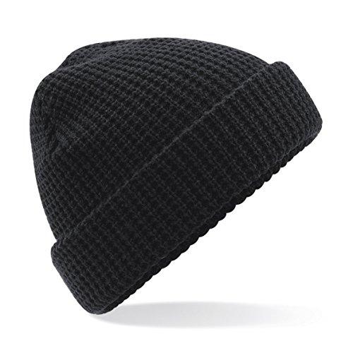 Beechfield - Bonnet - Homme, Noir, Noir