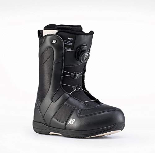K2 - Boots De Snowboard Belief Black - Femme - Taille 40 - Noir