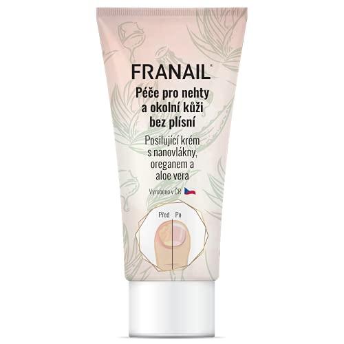 Franail Crema antihongos para manos y pies, 50 ml a base de nanofibras enriquecidas e ingredientes activos de aloe vera y orégano