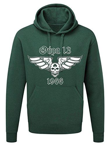 SRS-Textilservice Panathinaikos Athen Hooded Sweatshirt Hellas Griechenland Greece (M, Green)