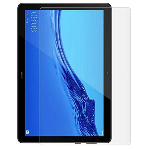 Roba de Cellulare Huawei Mediapad T5 10 Temperato Glass, Pellicola Protettiva Schermo Ultra Resistente HD Alta Elevata Durezza Anti-Graffo/Olio per Mediapad T5 10 10.1 Pollice 2018