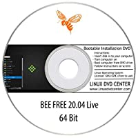 BEE Free Linux 20.04 Live (64Bit) - Bootable Linux Installation DVD