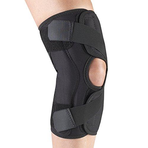OTC Knee Stabilizer Wrap for Osteoarthritis Orthotex, Black (Right Side Insert), XX-Large