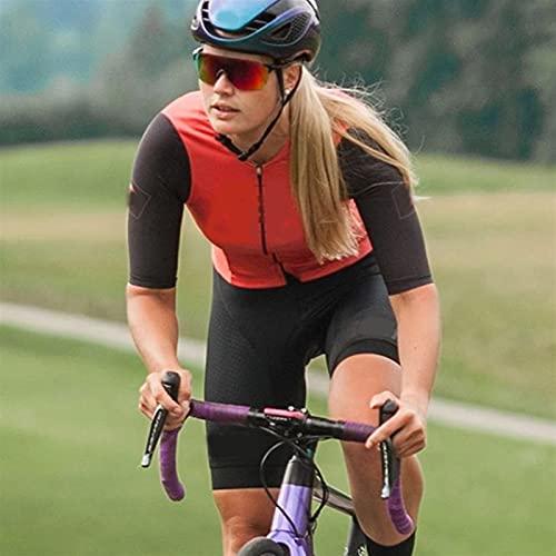 Tuta Da Triathlon Da Donna,Corta In Un Unico Pezzo Con Ventilazione Mappata Sul Corpo (Color : 6, Size : XX-Large)