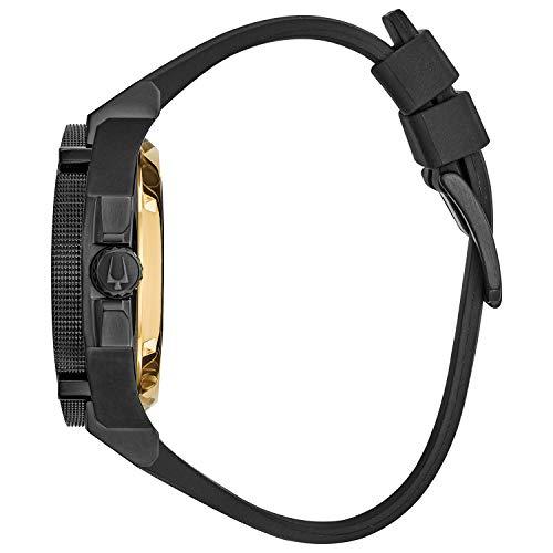 Bulova Precisionist Grammy Special Edition Watch - Black/Black Silicone/Black