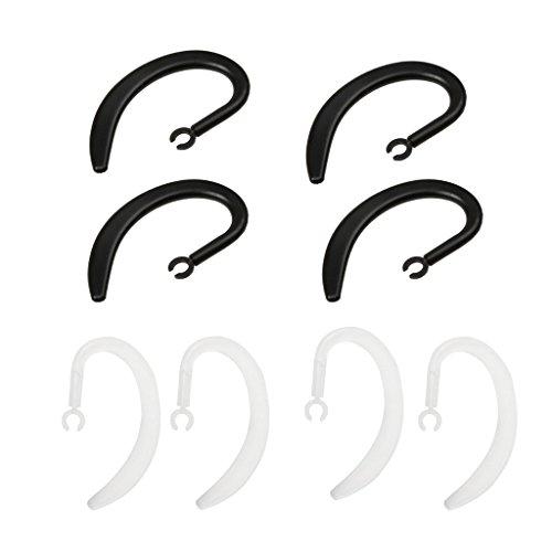 prasku Clip de Gancho de Oreja de Auricular Bluetooth de Repuesto de 8 Piezas