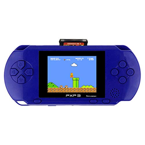 Livoty Playstation Kids Handheld Game Console Portable Gaming System 16 Bit Classic Game Console LCD...