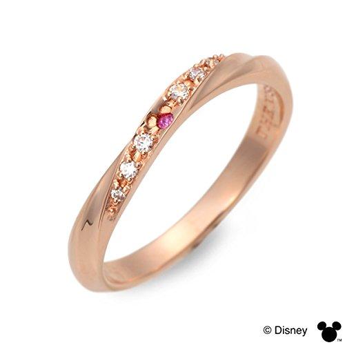 [ザ・キッス] Disney シルバー リング 指輪 婚約指輪 結婚指輪 エンゲージリング レディース ディズニー 7.0号 DI-SR1821PSP-7