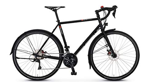 """vsf fahrradmanufaktur T-Randonneur Sport Trekking Bike 2020 (28\"""" Herren Diamant 62cm, Ebony matt)"""