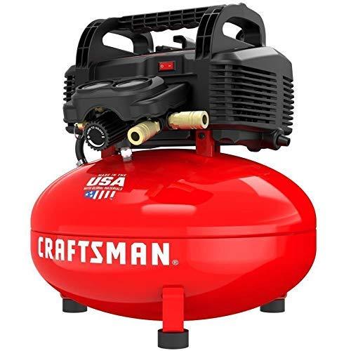 CRAFTSMAN 6-Gallon Portable Electric Pancake Air Compressor
